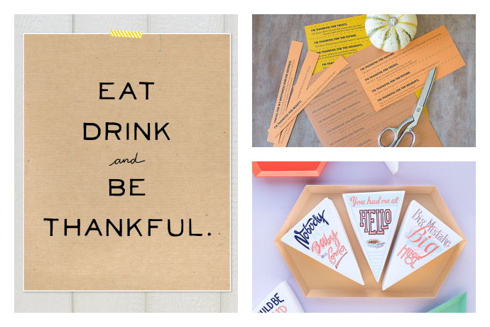 11 really fun Thanksgiving printables, from activity books and coloring pages for the kids, to table decor that makes you smile.