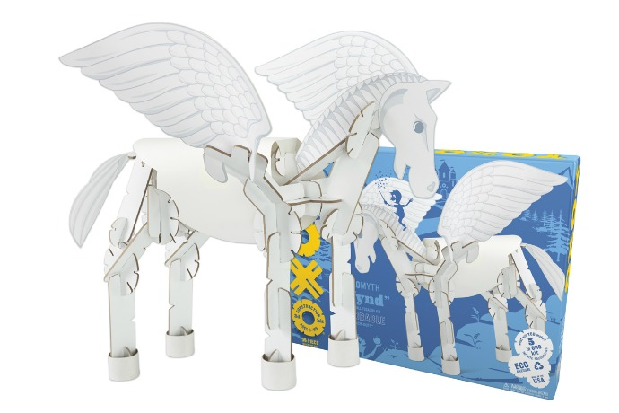 YOXO: Affordable gifts that build imagination. Oh, and maybe a pegasus.