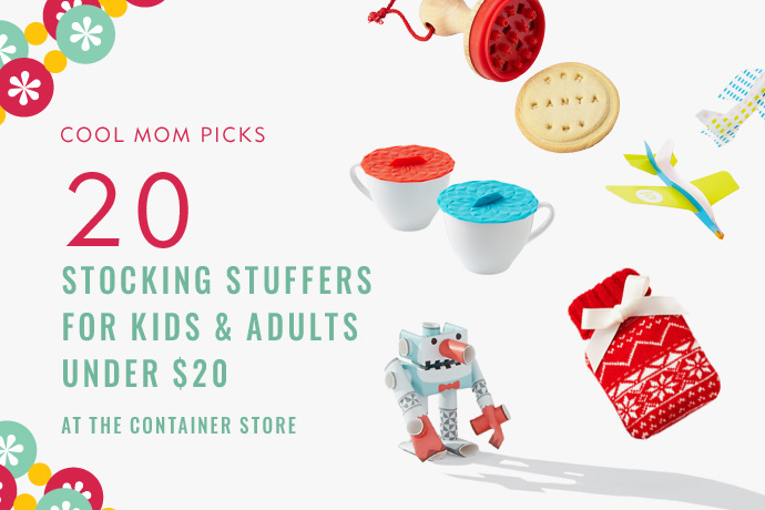 20 awesome stocking stuffer ideas under $20 all from The Container Store. Convenience FTW!