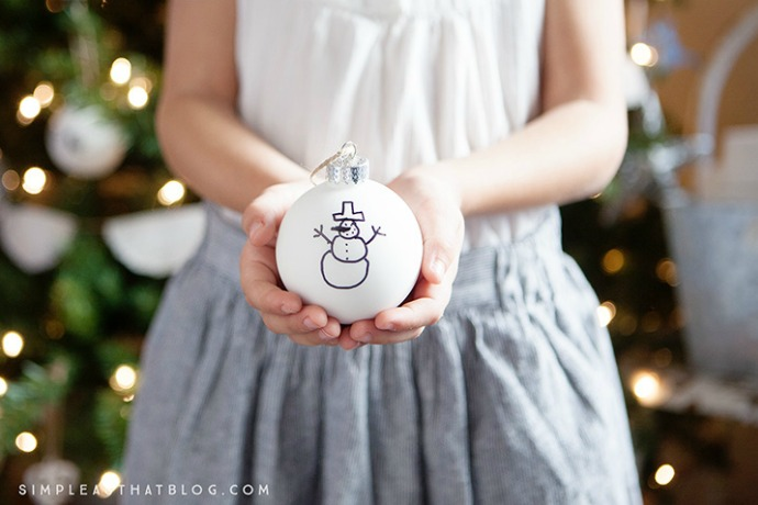 Easy DIY ornaments for kids: 9 terrific ideas for turning those plain ornaments into something special