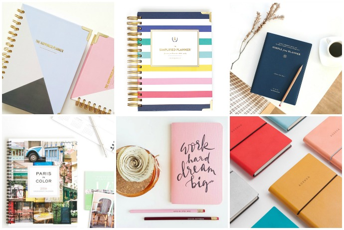 16 of the prettiest modern 2016 planners, to help start the new year with a little positivity.