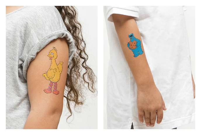 Sesame Street + Tattly = Best stocking stuffer ever. For the kids, too.