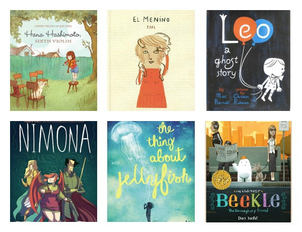 The ultimate list of the best kids' books of 2015: All the annual best-of lists and award winners all in one place.