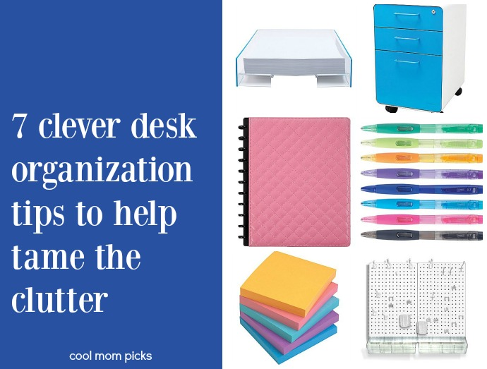 7 creative, stylish ways to help you eliminate desk clutter once and for all