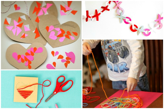 11 easy valentine 39 s day crafts for preschoolers young kids for Valentines day art and crafts for preschoolers