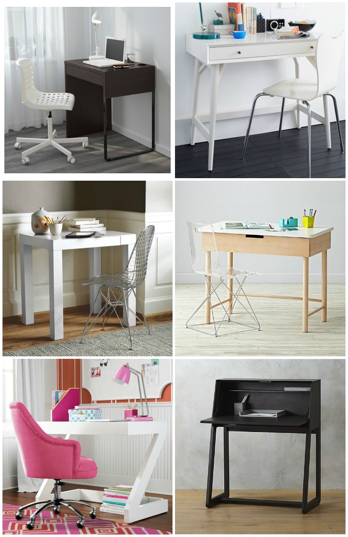 9 modern kids 39 desks for small spaces cool mom picks for Small cute chairs