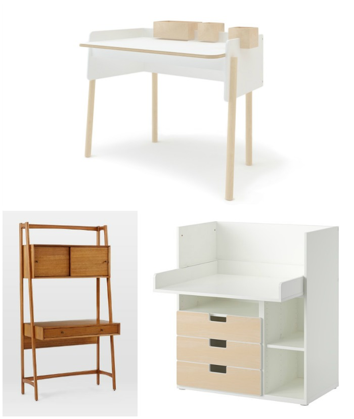 9 Modern Kids 39 Desks For Small Spaces Cool Mom Picks