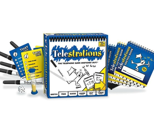 Telestrations: Like Telephone meets Pictionary meets so much fun