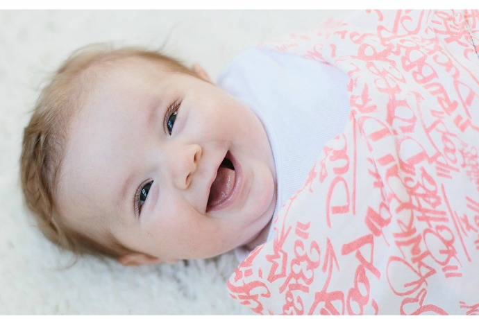 How beautiful swaddle blankets are helping babies in need of more than just sleep