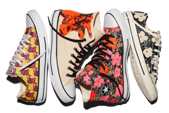 Andy Warhol Converse. What else needs to be said?
