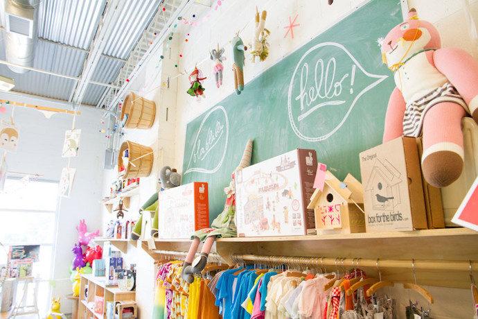 Treehouse Kid & Craft: A cool indie toy shop that makes you want to buy everything.