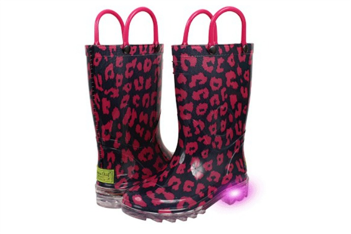 These brilliant light-up rain boots for kids will brighten even the dreariest of days.