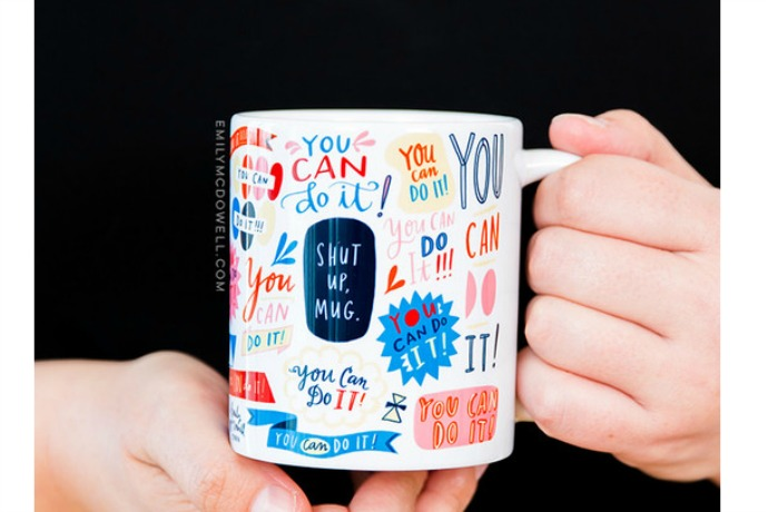 Make your dreariest mornings a whole lot brighter with these 5 mugs. (Coffee helps too.)