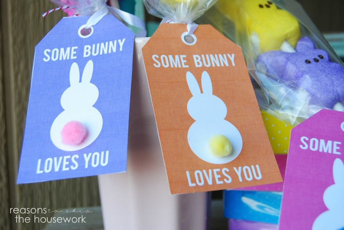 Adorable, free last-minute Easter printables for the finishing touch on those baskets