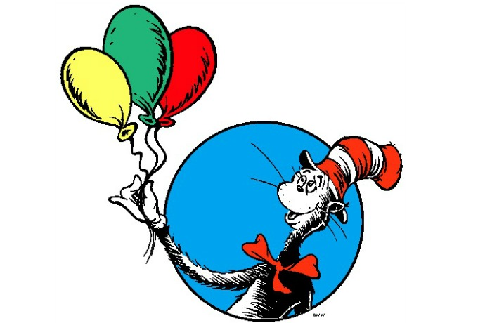 Happy birthday Dr. Seuss! You're still alive in our hearts and on our bookshelves.