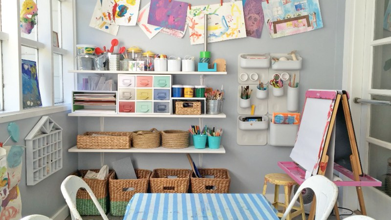 How to create an organized craft space for kids: 7 expert tips to change your world