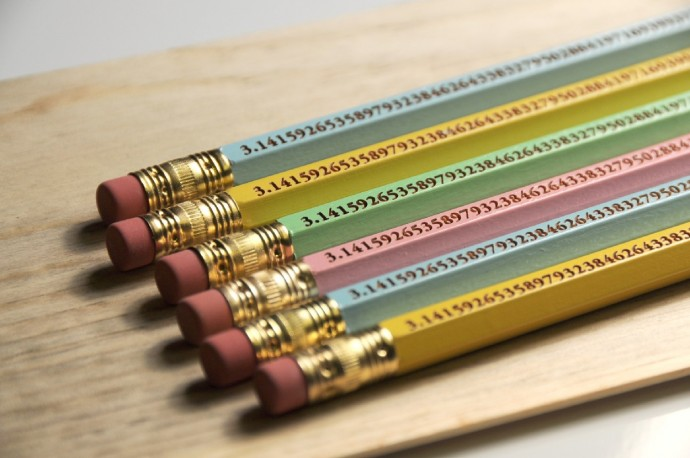Pi Day pencils: Geekery at its most pointed
