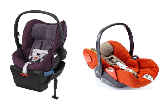 A fully reclining infant car seat from Cybex: Mamas, prepare your baby registry wish lists.