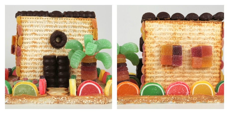An edible Passover craft idea. How's that for easy clean-up?