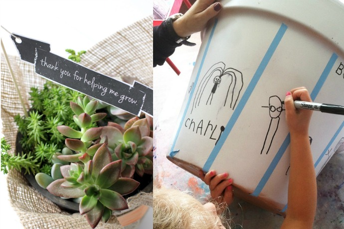 10 DIY teacher gifts for Teacher Appreciation Week to remind them how much they're helping our children grow