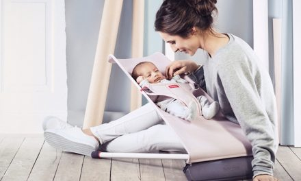 6 modern baby bouncers that are super stylish space-savers