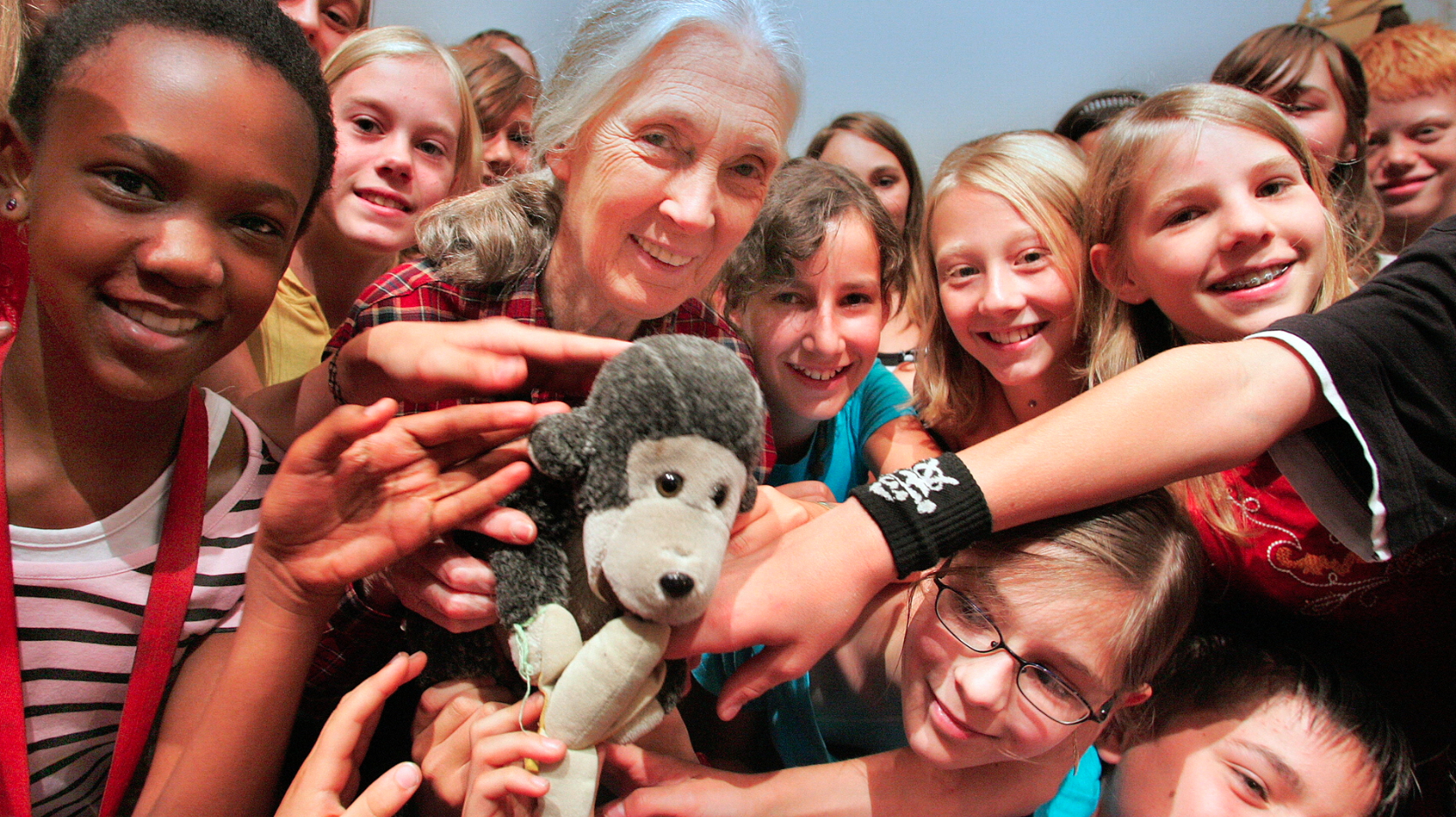 Happy birthday Jane Goodall!  5 fun, easy ways to introduce her to your kids
