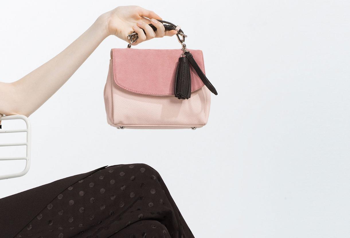 7 Pantone inspired rose quartz handbags to help you swing into spring.