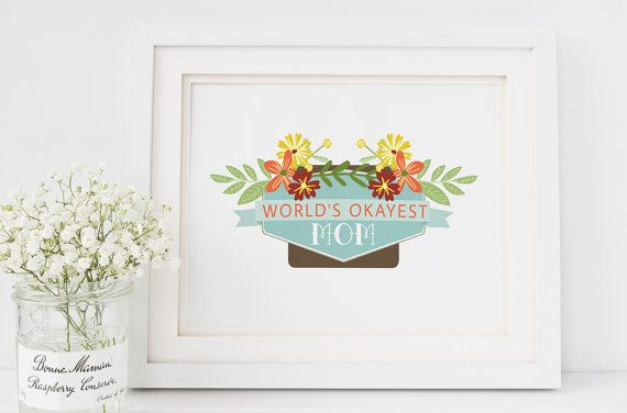 13 amazing Mother's Day quote prints that say it all, when we can't.