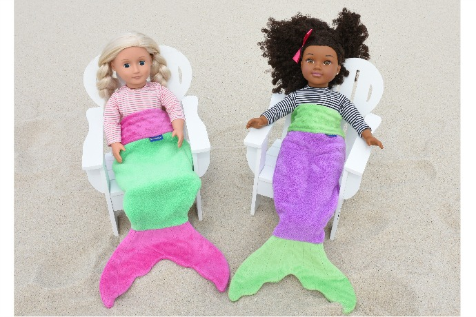 Blankie Tails makes a big splash with new mermaid tails for dolls