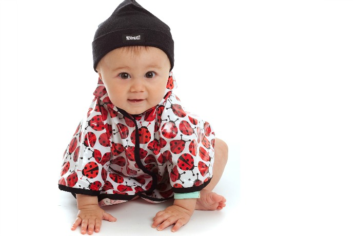 We found the most adorable baby rain ponchos to get rid of the rainy day blues.