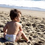 Swim diapers that help stave off sunburn too? We're impressed!