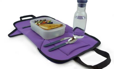 It's a lunch bag! It's a place mat! It's the answer to every germaphobe parent's prayers.