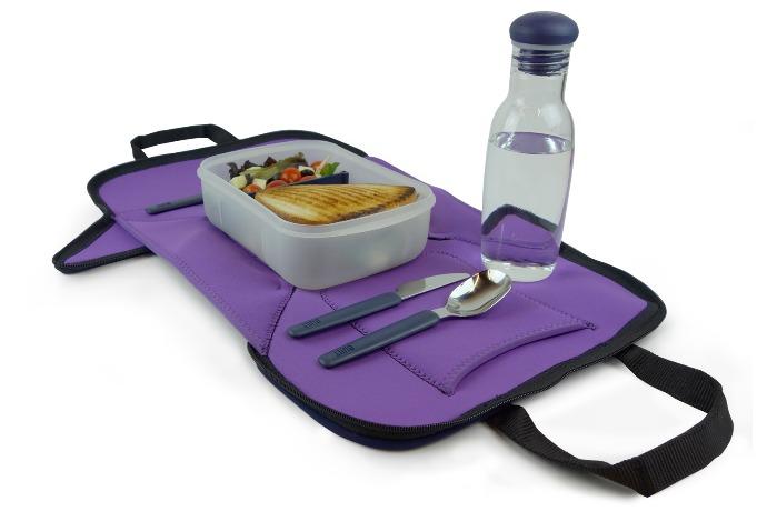 It's a lunch bag! It's a place mat! It's the answer to every germaphobe parent's prayers.