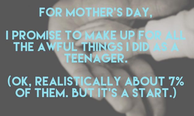 Happy Mother's Day, cool moms!