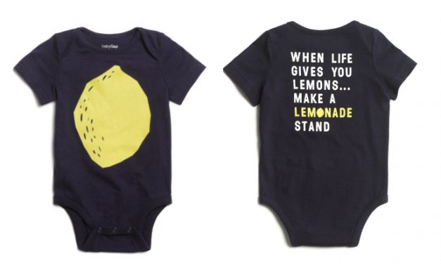 New from babyGap + Alex's Lemonade Stand Foundation: a sweet collection with a big mission