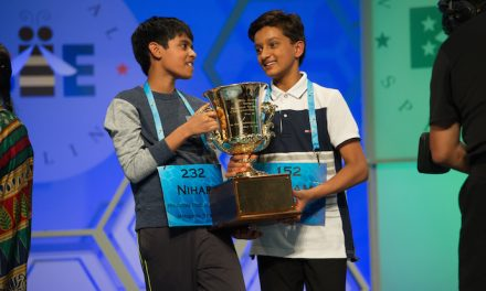 The 2016 National Spelling Bee winners. And tips for getting your kids excited about spelling.