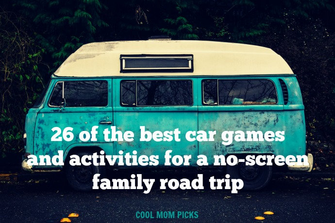 26 of the best car games and activities to keep kids happy without screens