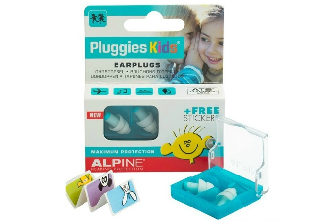 Alpine Pluggies make flying with kids a whole lot less painful