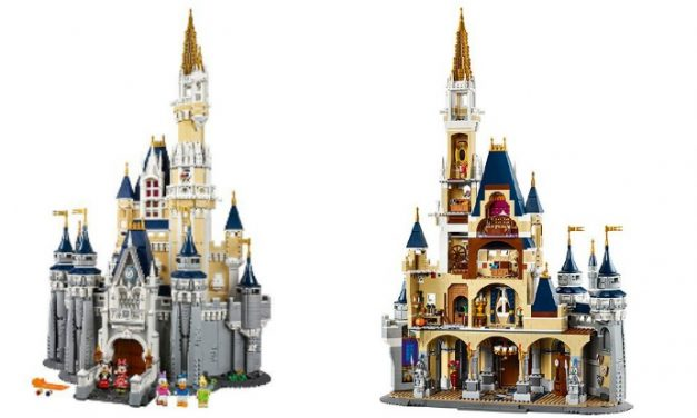 The Disney LEGO castle that has us all wishing upon a star.