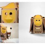 The most adorable cardboard playhouses for animal-loving kids.