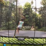 A safer trampoline, because fewer trips to the ER is a good thing.