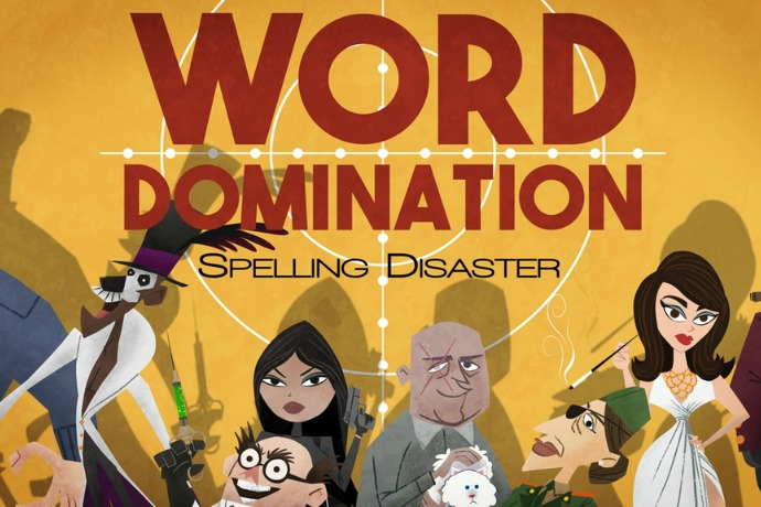 The (totally evil) family tabletop game for wicked word nerds and master strategists.