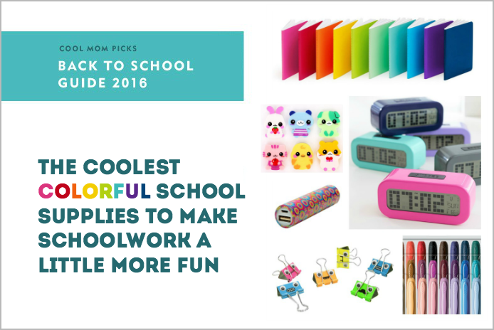 Cool, colorful school supplies to make September a little more fun | Back to School Guide 2016
