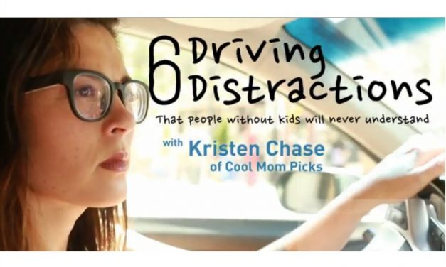 6 driving distractions people without kids will never understand