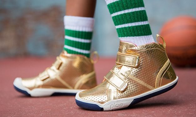 These metallic shoes for kids are winning back-to-school