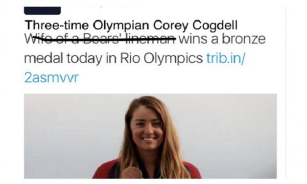 Hey sexist Olympic journalists: We're watching you. | Spawned episode 48
