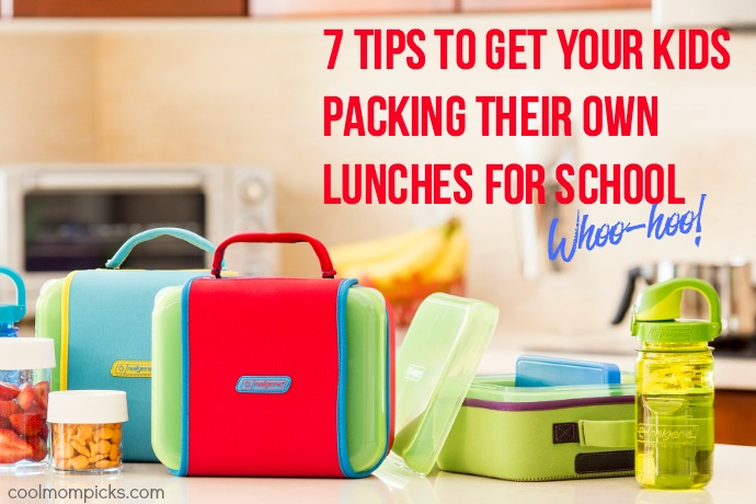 7 tricks to help kids pack their own school lunches. As in, them, not you!