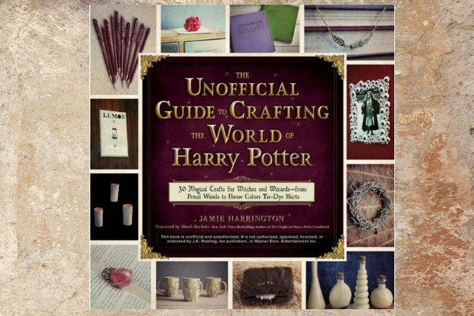 A Harry Potter crafts book that renews your faith in magic and hot glue guns