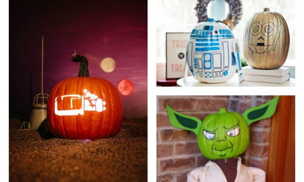 29 cool Star Wars pumpkin ideas we've found for Halloween: The internet has taught us well.