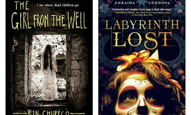 16 terrifically creepy YA novels for kids (and adults!) who dig dark themes. Boo!